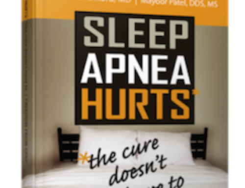 Help your office with Dr. Patel's educational book on sleep apnea